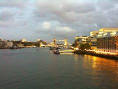 The Tower Bridge in London. Can't wait to be back there some day.