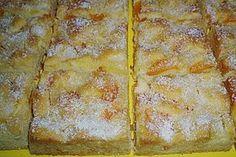 Refreshing pineapple – mandarin – sheet cake by schraudi No Cook Desserts, Lemon Desserts, Nutella, Chef Cake, Plain Cake, Summer Cakes, Classic Cake, Sweets Cake, Easy Cake Recipes