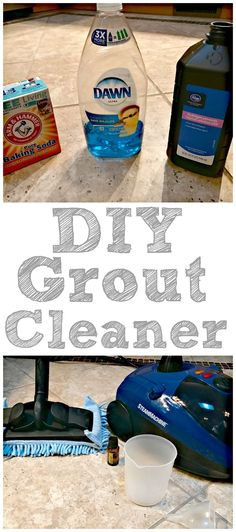 DIY Grout Cleaner- how to clean grout the easy way