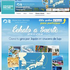 CruceroOnline Facebook Contest #Socialshaker