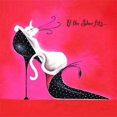 This is Lottie..and she says..  If the shoe fits...well just go and wear it ! https://www.facebook.com/marilynrobertsoncatitudes?ref=hl