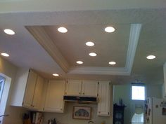 kitchen recessed lighting ideas. changing the kitchen fluorescent box light fixtures like use of crown molding and recessed lighting pinterest moldings change ideas