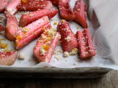 <p>Switching up the way we cook rhubarb, the tangy springtime fruit, can make us fall in love with it all over again.</p>