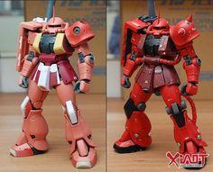 "Custom Build: MG 1/100 Char's Zaku II ""Detailed"" 35th Anniversary Presentation - Gundam Kits Collection News and Reviews"