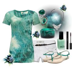 """Pretty Green"" by missyfer88 on Polyvore"