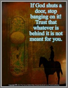 Just trust the Lord