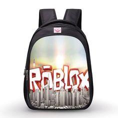 Printing Roblox Backpacks Boys Minecraft Backpack Student School Bags  Kindergarten bag shoulder cute bag mini bag for children d49146af9d461