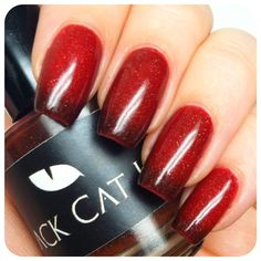 Black Cat Lacquer Poison Apple Cruelty free