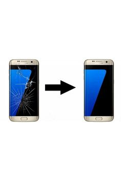 Výměna rozbitého skla Samsung S7 Edge Galaxy S7, Samsung Galaxy, S7 Edge, Iphone, Advertising