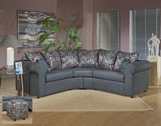 295 Piedmont Object Charcoal Sectional - $549 at www.furnitureurban.com