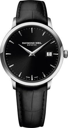 @raymondweil  Watch Toccata #bezel-fixed #bracelet-strap-leather…