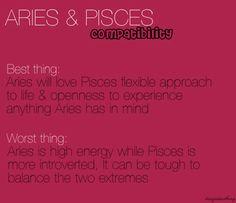 Aries & Pisces                                                       …