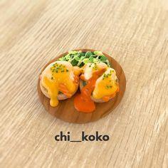 🍳ミニチュアクッキー🍳 エッグベネディクト作ってみました #icingcookies #sugarcookies #miniature #アイシングクッキー #ミニチュア #エッグベネディクト