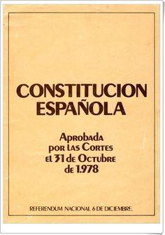 """""""La Constitución Española de 1978"""" Company Logo, Dates, Seasons, Google, Socialism, Texts, Teaching Resources, Constitution Day, Science Area"""