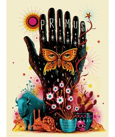 Primus OKC poster by Jeff Soto