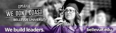"""We Don't Coast"" at Bellevue University - We Build Leaders"
