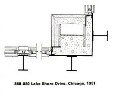 n the February 1972 issue of The Architectural Review, the architect, writer and Architectural Association teacher John Winter analysed the design and development of Mies van der Rohe's metal-clad towers.