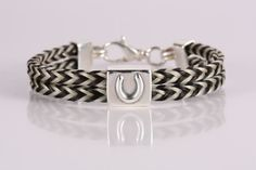 Square Braid Horsehair Jewelry