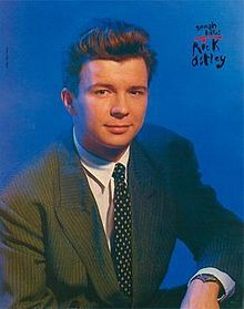 """Richard Paul """"Rick"""" Astley (/ˈrɪk ˈæstli/; born 6 February 1966) is an English singer-songwriter, musician, and radio personality. He is known for his 1987 song, """"Never Gonna Give You Up"""", which was a #1 hit single in 25 countries.[1] Astley holds the record for being the only male solo artist to have his first 8 singles reach the Top 10 in the UK[2] and by retirement in 1993 had sold approximately 40 million records worldwide"""