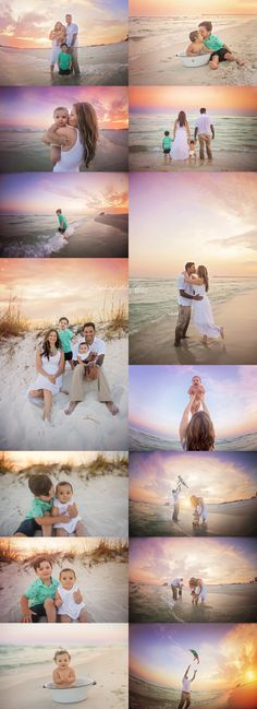 Family Beach session. Navarre Beach Florida. ©2015 www.ryetanphotosb... RyeTan…