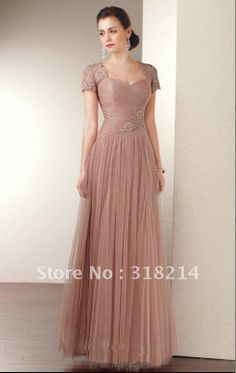 Aliexpress.com : Buy 2012 free shipping Desert Rose Softly etherealgown with Elegant lace accents mother of bride dress from Reliable mother of bride dresses suppliers on Online Store 318214 $118.00
