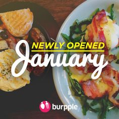 New Restaurants, Cafes and Bars: January 2015 by Burpple Guides. Happy New Year Burpplers! Usher in 2015 by adding these hot new dining spots to your latest to-go list! A new year can only mean one thing... more awesome food places coming up in the year ahead. Don't miss out - keep your eyes peeled and watch this space. Did we miss out your favourite new restaurant/ cafe/ bar? Drop us a message at community@burpple.com to let us know! :)