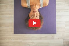 Relieve your hangover with this simple yoga routine. #yoga #home #workout