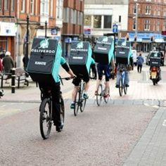 Deliveroo le restaurant à vélo