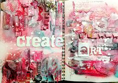 Chic Scrapbook Designs by Limor Webber: Mixed Media Friday fast forward