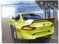 BMW 3.0 CSL Hommage Concept: Design Gallery