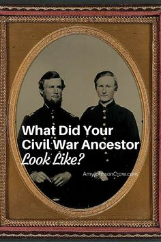 What Did Your Civil War Ancestor Look Like? - Amy Johnson Crow Even if you didn't inherit a photo of your Civil War ancestor, there are several sources you can use to find his physical description. Free Genealogy Sites, Genealogy Forms, Genealogy Search, Family Genealogy, Free Genealogy Records, Genealogy Chart, My Family History, All Family, Family Trees