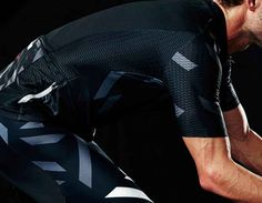 Men's Cycling Pro All-Season Jersey (Black/Dark Slate) - ROKA Sports, Inc.