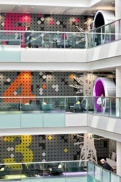 BBC North, Greater Manchester, England, Office Interior Design by ID:SR