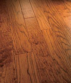 Artisan Hand-Carved Engineered Hardwood Flooring - Tuscan Volterra Hickory
