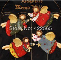 4pcs/lot Fat Angel Resin Fridge Magnet Vintage Style Flying Angel Refrigerator Magnet Home Decoration #71002