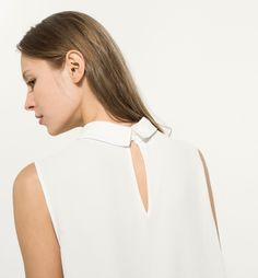 LARGE WHITE BLOUSE The Great White, Large White, Knitwear, Nice Things, Blouse, Minimalism, How To Wear, Color, Inspiration