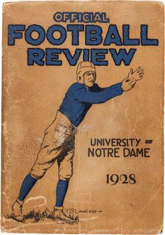 Notre Dame Football Review | 1928.