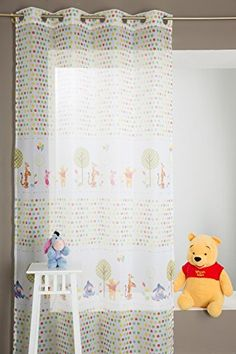 Inspirational Gardine F r Kinderzimmer Winnie The Pooh X Wei