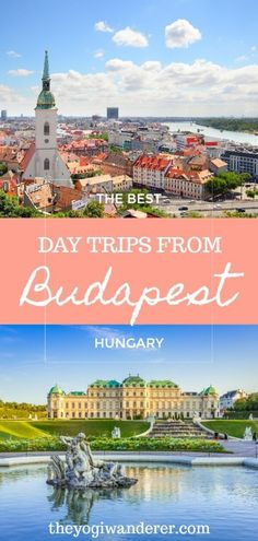 A list of the best day trips from budapest worthy of your bucket list. Europe Travel Guide, Europe Destinations, Travel Guides, Travel Info, Travel News, Cheap Travel, Travel Packing, Travel Backpack, Usa Travel