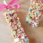 bake sale ideas: rice krispies on a stick!