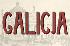 Galicja by Brendan Ciecko on @creativemarket