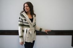 I have the yarn and the pattern, now I just need to sit down and knit this! True North by Amy Swenson
