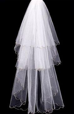 White Sweep #Veils Style Code: 07907 $39.99