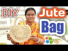 How to make HAND BAG with Jute Braid rope|Jute DIY Craft Idea| #Jute Bag DIY,#Hand Bag - YouTube