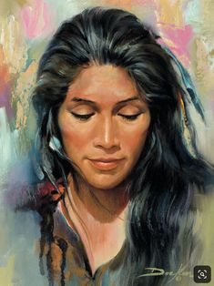 Native American Face Paint, Native American Paintings, Native American Pictures, Native American Artists, Native American Women, American Indian Art, Native American Indians, Native Indian, Native Art