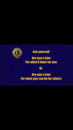 Lions International Logo, Lion Icon, Lion Images, Lion Poster, Icons, Posters, India, Club, Goa India
