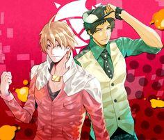 /Cross-Over/ - Zerochan Samurai Flamenco, Future Wallpaper, Tiger And Bunny, Asian Love, Anime Crossover, Anime Guys, Fangirl, Fandoms, Hero