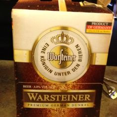 Good German beer. A darker one that I actually liked