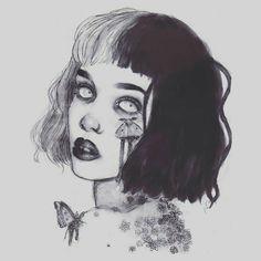 Imagen de art, cry baby, and fan art