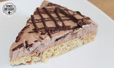 Nusskuchen mit Schokoladenquark | FITNESS-DESSERT.DE
